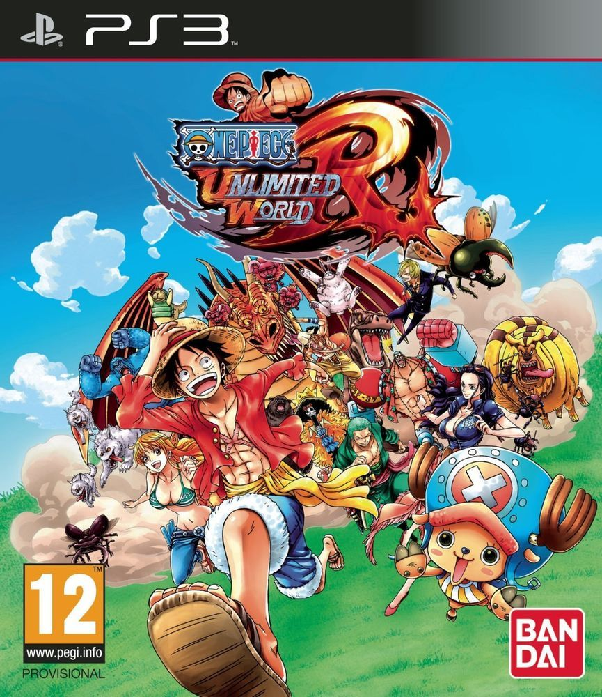 One Piece Unlimited World Red D1 Edition PS3 NUOVO