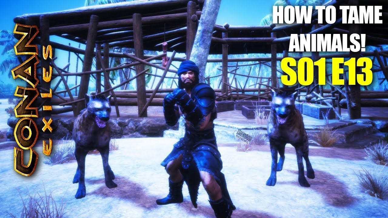 Conan Exiles Animal Taming! S01 E13 | The Idiot Brigade