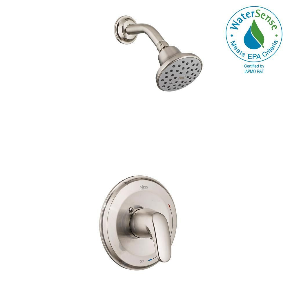 American Standard Colony Pro 1 Handle 1 Spray Shower Faucet Trim