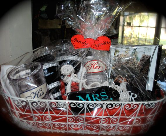Homemade Wedding Shower Gifts: His & Her Bridal Shower Gift Basket By