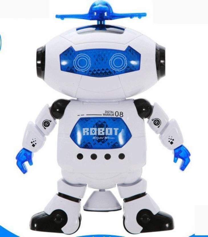 Royle Katoch 360 Degree Dancing Robot With Music And Led Lights