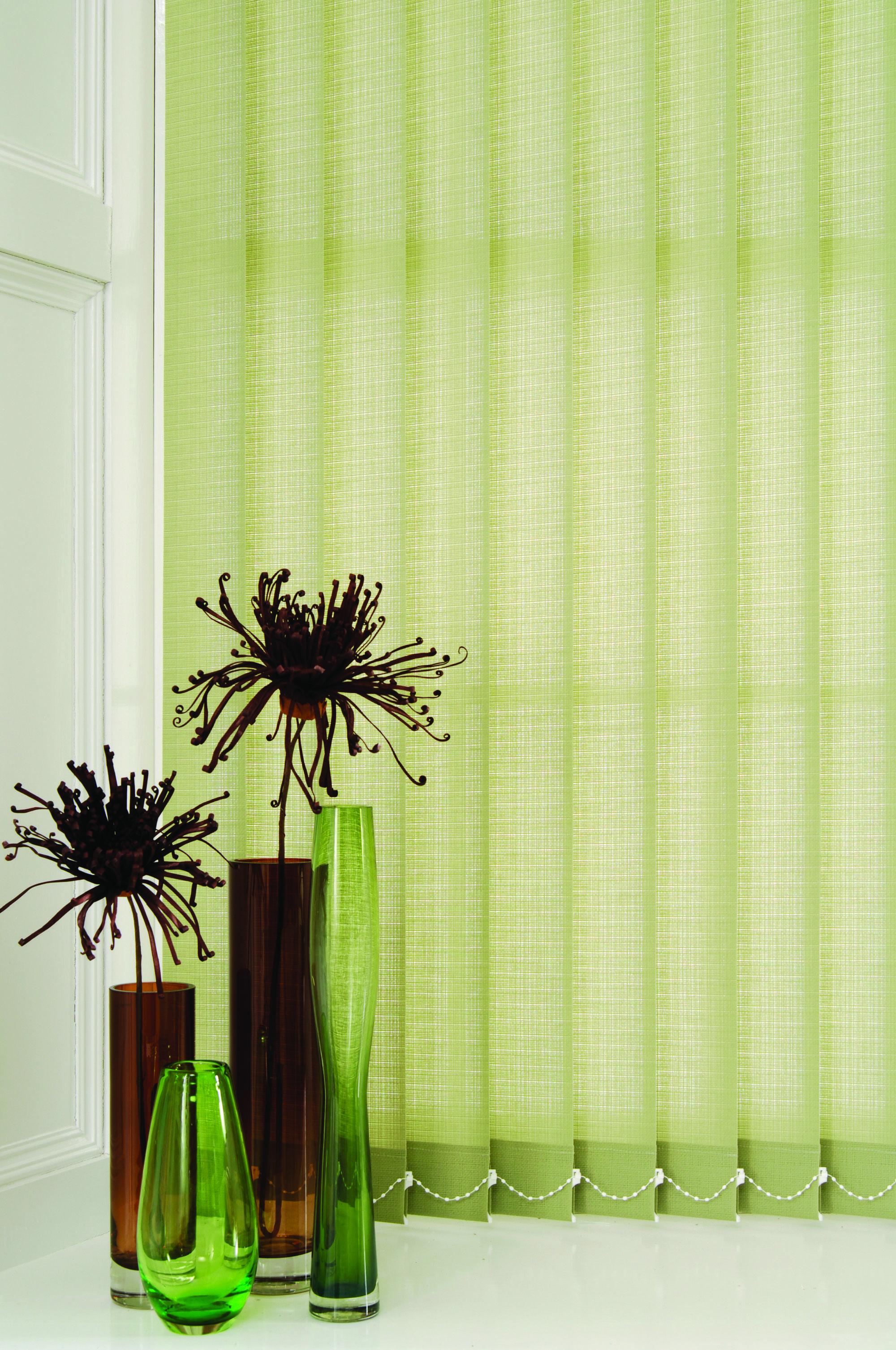 Cortinas Verticales verdes | Green Vertical Blind