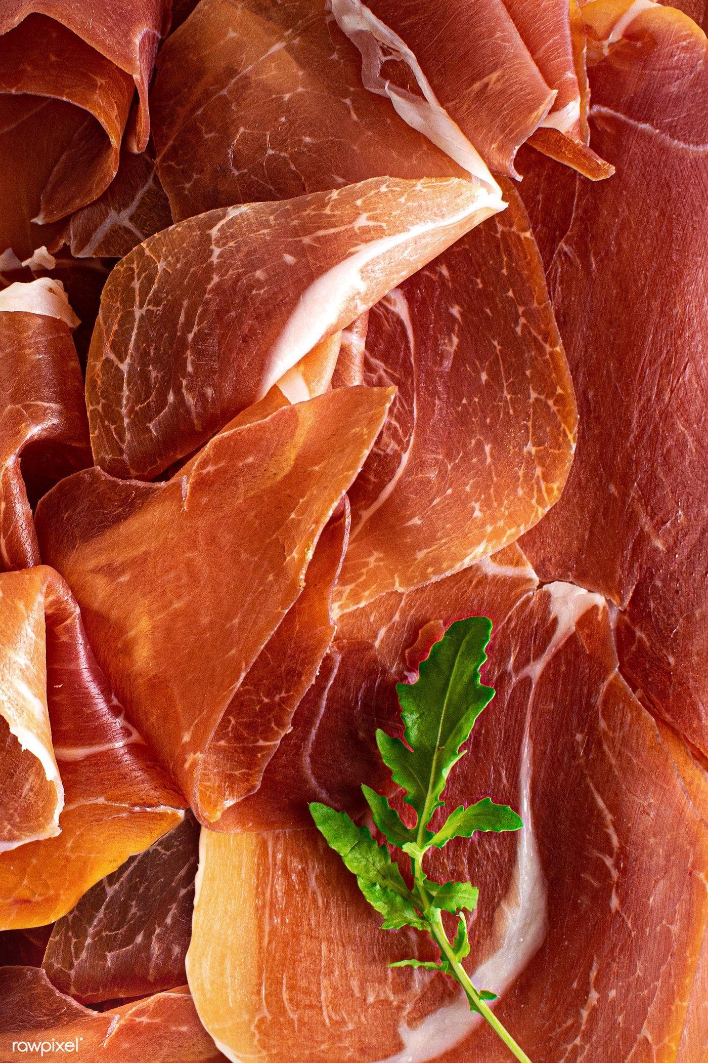 Italian Prosciutto Crudo Or Parma Ham Flatlay Free Image By Rawpixel Com Monika Italian Prosciutto Parma Ham Prosciutto