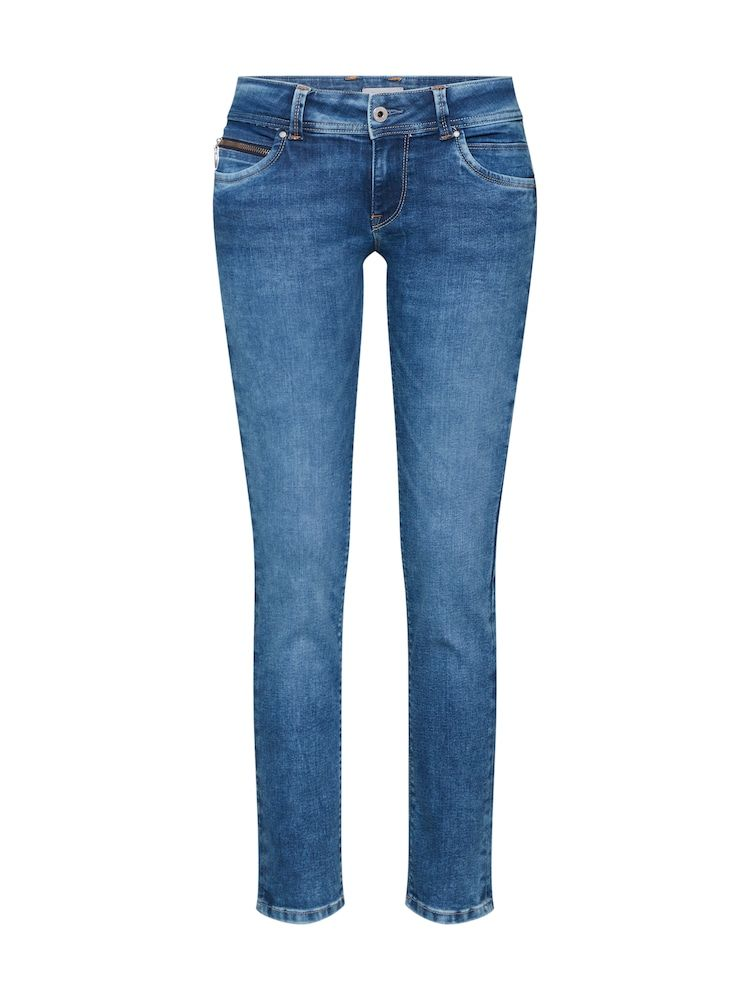 Pepe Jeans Jeans 'New Brooke' Damen, Blue Denim, Größe 32