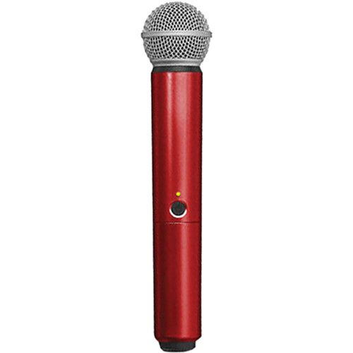 Shure WA713-RED Color Handle for BLX SM58/BETA58A Microphone (Red)