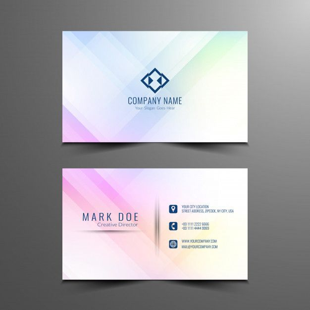 Download Abstract Business Card Design Template For Free Business Card Template Design Business Card Design Simple Red Business Card Design