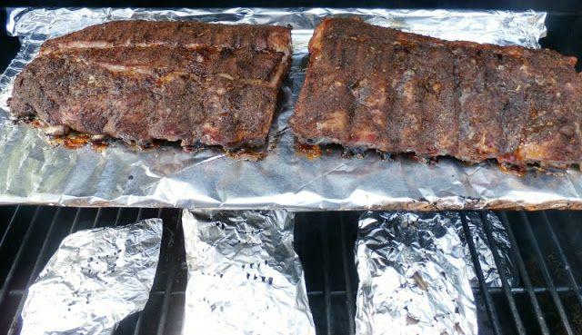 Sam's Place: Southwestern Seasoned Smoked Ribs