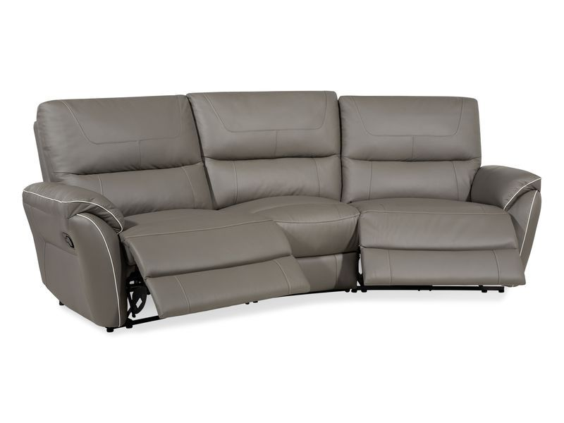 Dexy 4 Seater Curve Manual Recliner Sofa Reclining Sofa Power