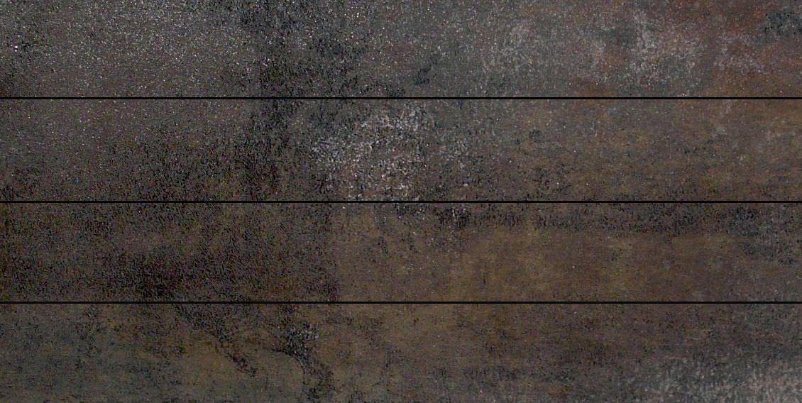 Carrelage de sol en gr s c rame effet m tallis 11 - Carrelage aspect metal ...
