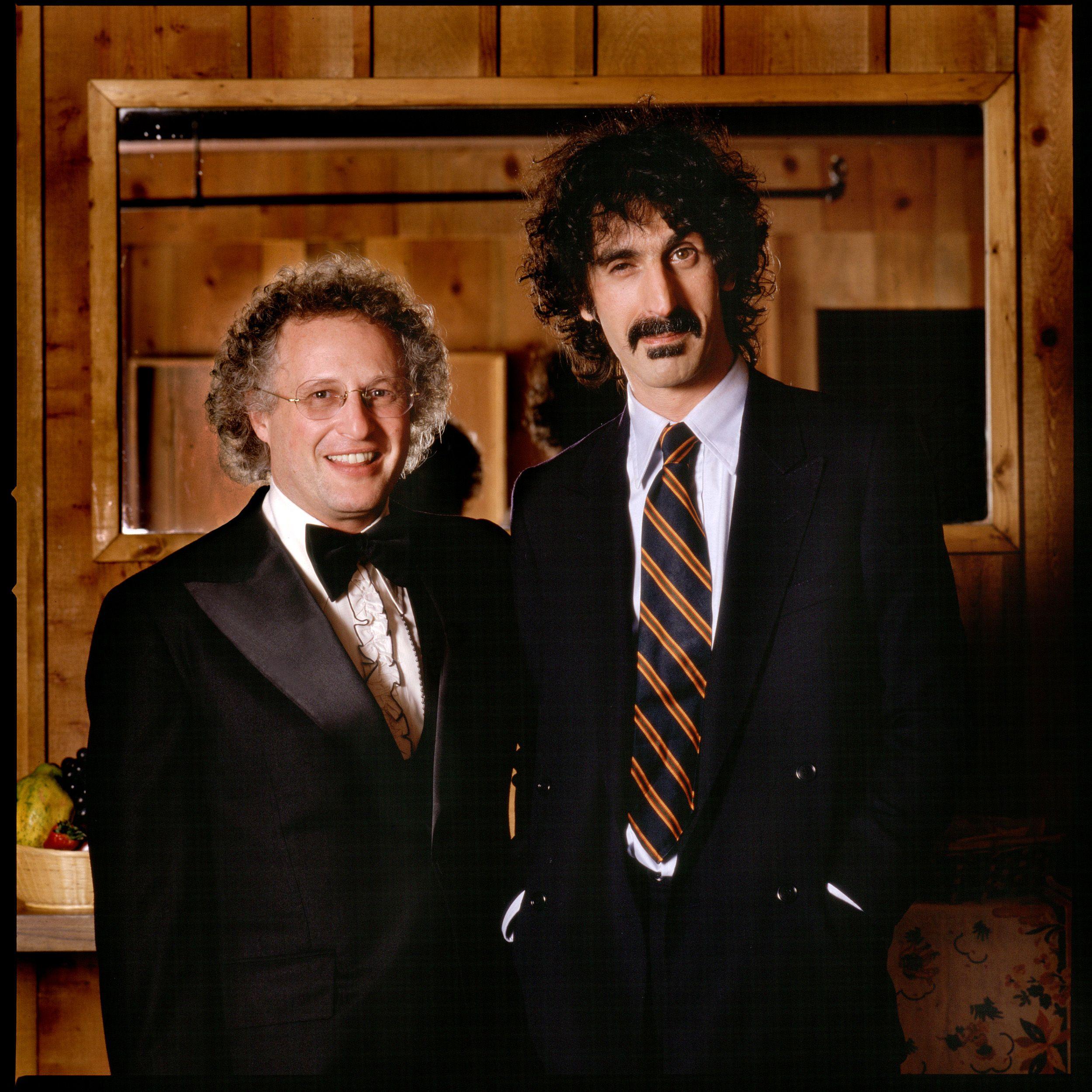 Joel Thome with Frank Zappa