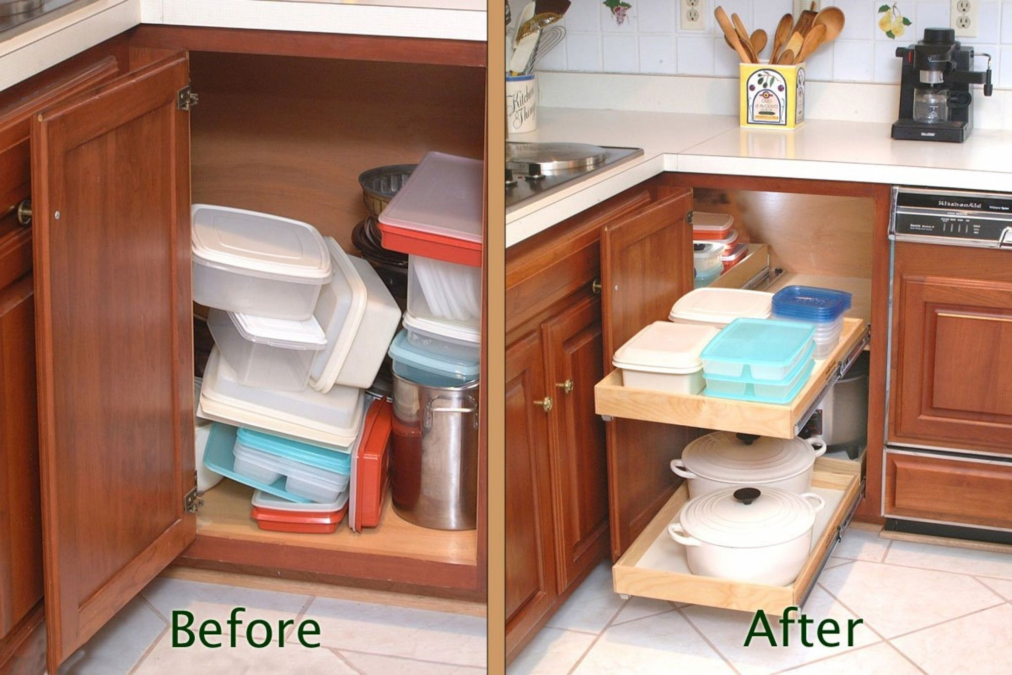 Corner cabinet solutions in kitchens kitchen design ideas for small kitchens check more at http