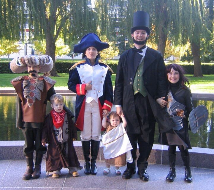 Bill Teds Excellent Adventure Family Costumes