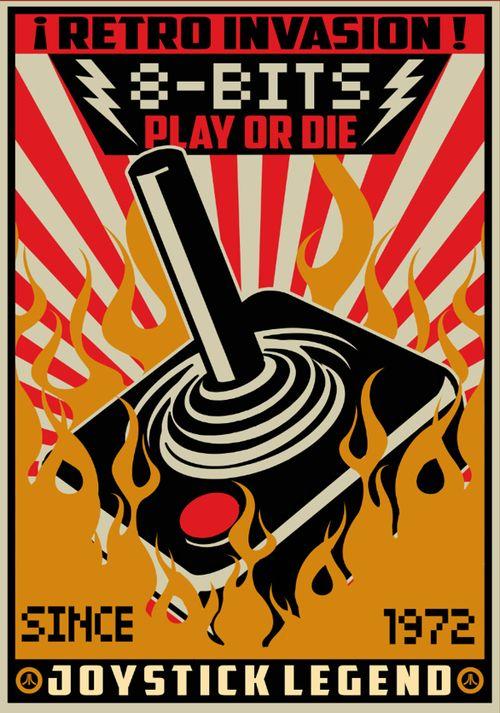 Geek Art Gallery Posters Atari Cartel Retro Gaming Art Retro Retro Video Games