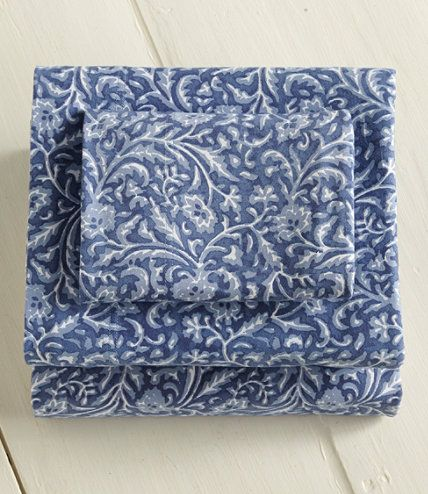 egyptian jersey knit sheet set print sheet sets free shipping at llbean - Jersey Knit Sheets