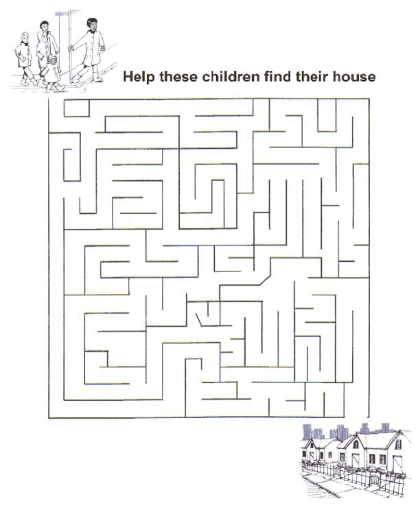 Maze Page Print Your Free Maze At Allkidsnetwork Com Maze Print Free Activities For Kids Quiet Book Patterns Maze worksheets for year olds