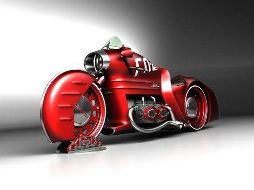 Russian Concept Bike