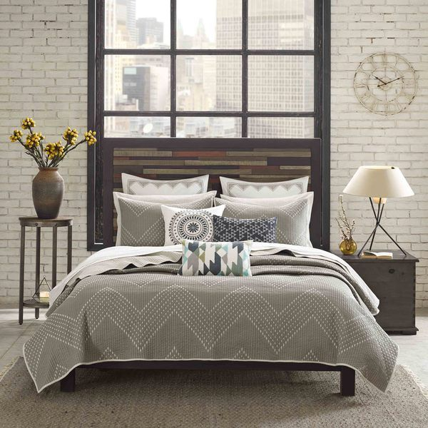 Ink Ivy Pomona 3 Piece Cotton Coverlet Set Life By The