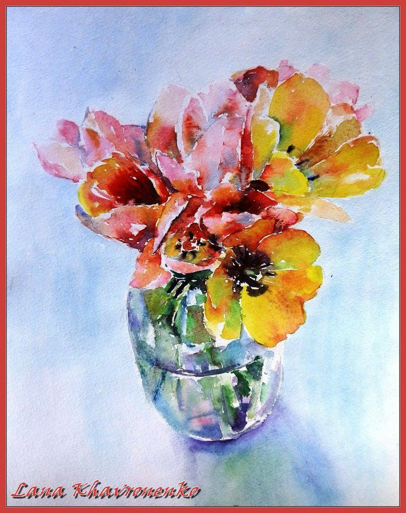 Tulips by LORETANA