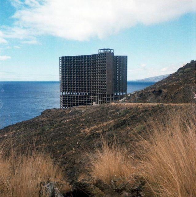 An Unfinished Hotel Haunts A Spanish Coastline