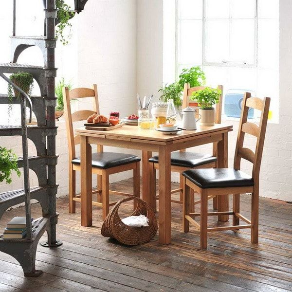 Comedores peque os con mucho encanto comedor peque o for Comedores sencillos y pequenos