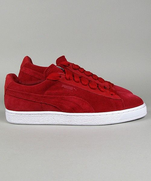 Puma Suede Classic Eco chilli pepper - own - love - I call them my ruby · Puma  Sneakers ShoesWhite Puma SneakersRed ...