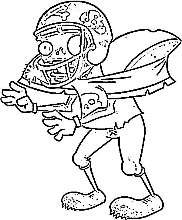 Coloring Pages For Plants Vs Zombies : Plants vs zombie coloring pages for kids