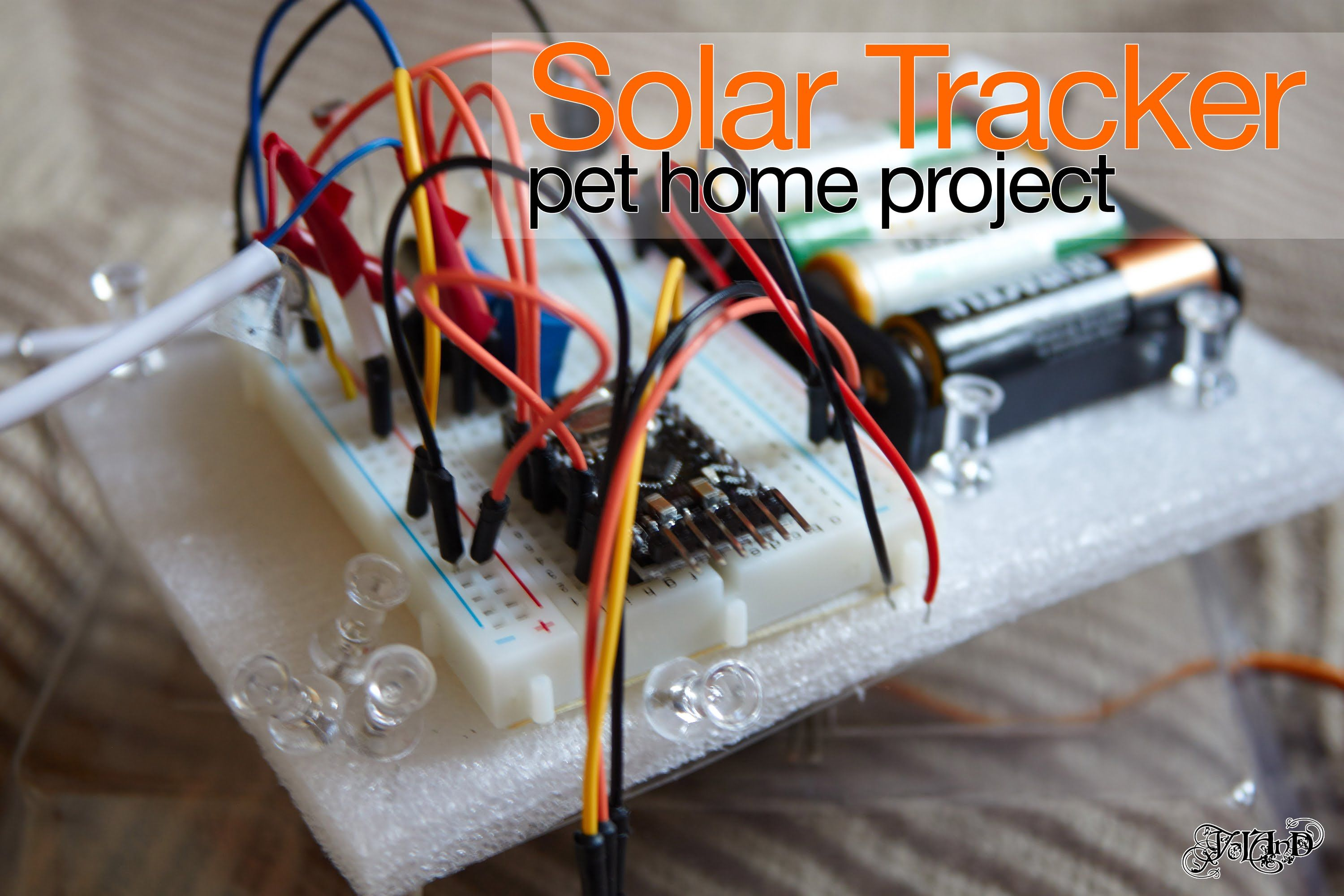 Solar Tracker Based On Atmega328 Arduino Mini Home Pet Project Electronics Projects Circuit Power