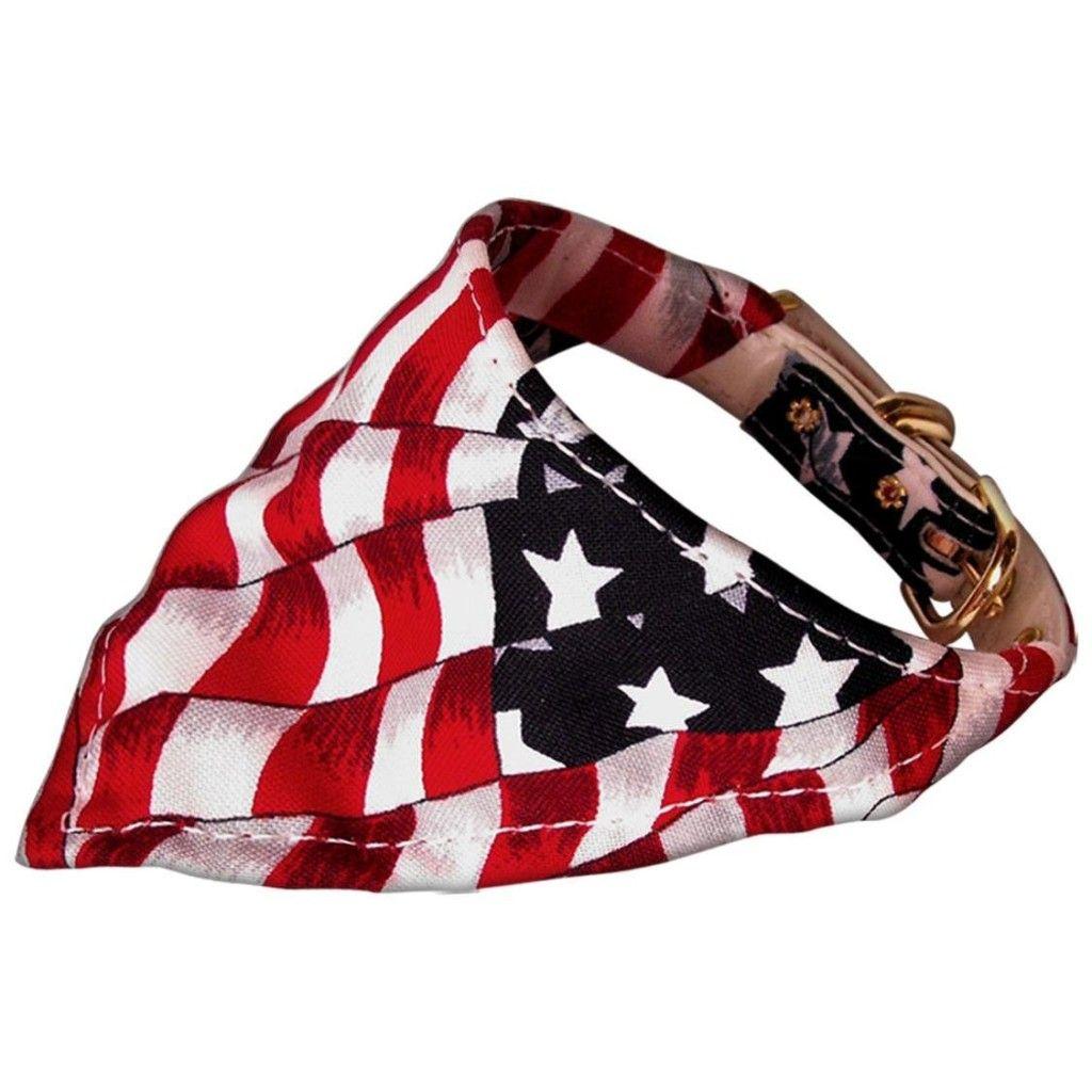USA bandana/collar