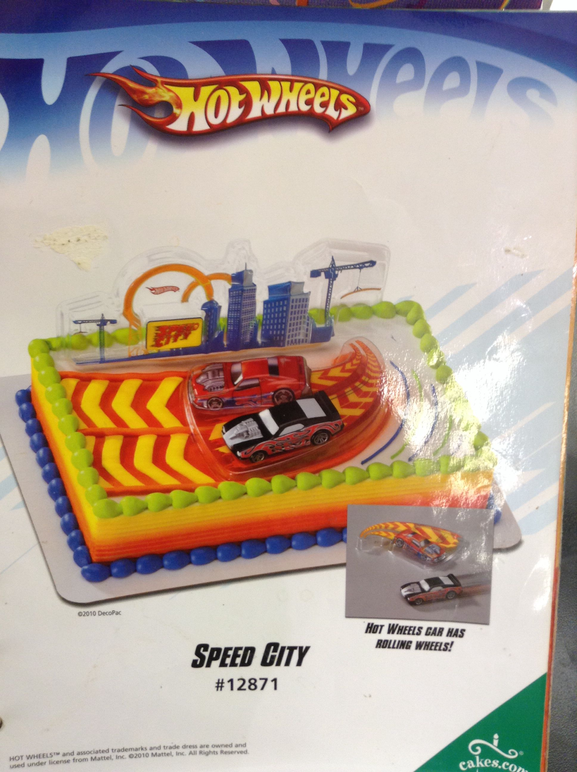 Awesome Albertsons Hot Wheels Cake Hot Wheels Party Supplies Hot Wheels Funny Birthday Cards Online Overcheapnameinfo