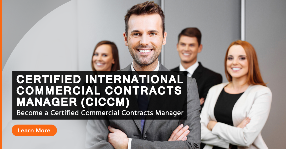 Obtain A Certification To Work As A Contract Manager News And