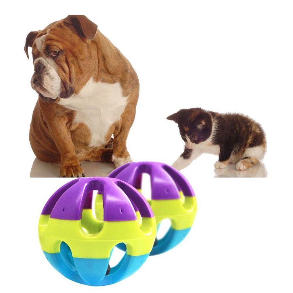 Botrong Safe Plastic Ring Balls Dog Cat Hamster Chewing Fetch Pet Toys Pet Sound Toy Check Out This Great Product This Is An A Pet Sounds Pet Toys Dog Toys