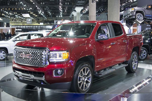 The 2018 Gmc Canyon Is The New Model To Be Introduced In Its