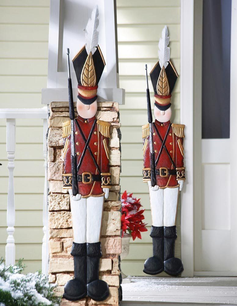 2 Metal  Nut Crackers for Holiday Season