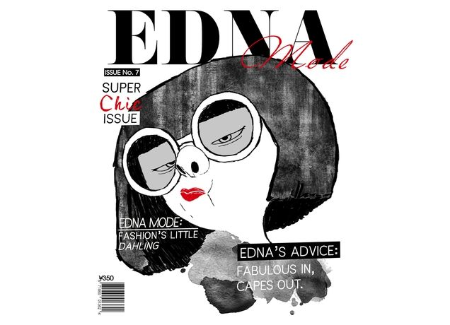Edna Mode Issue by ryeofcali | Threadless
