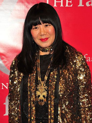 """Anna Sui --fashion designer .  """"Sui is known for her timeless designs and ability to transcend eras with historical and culturally inspired collections."""""""
