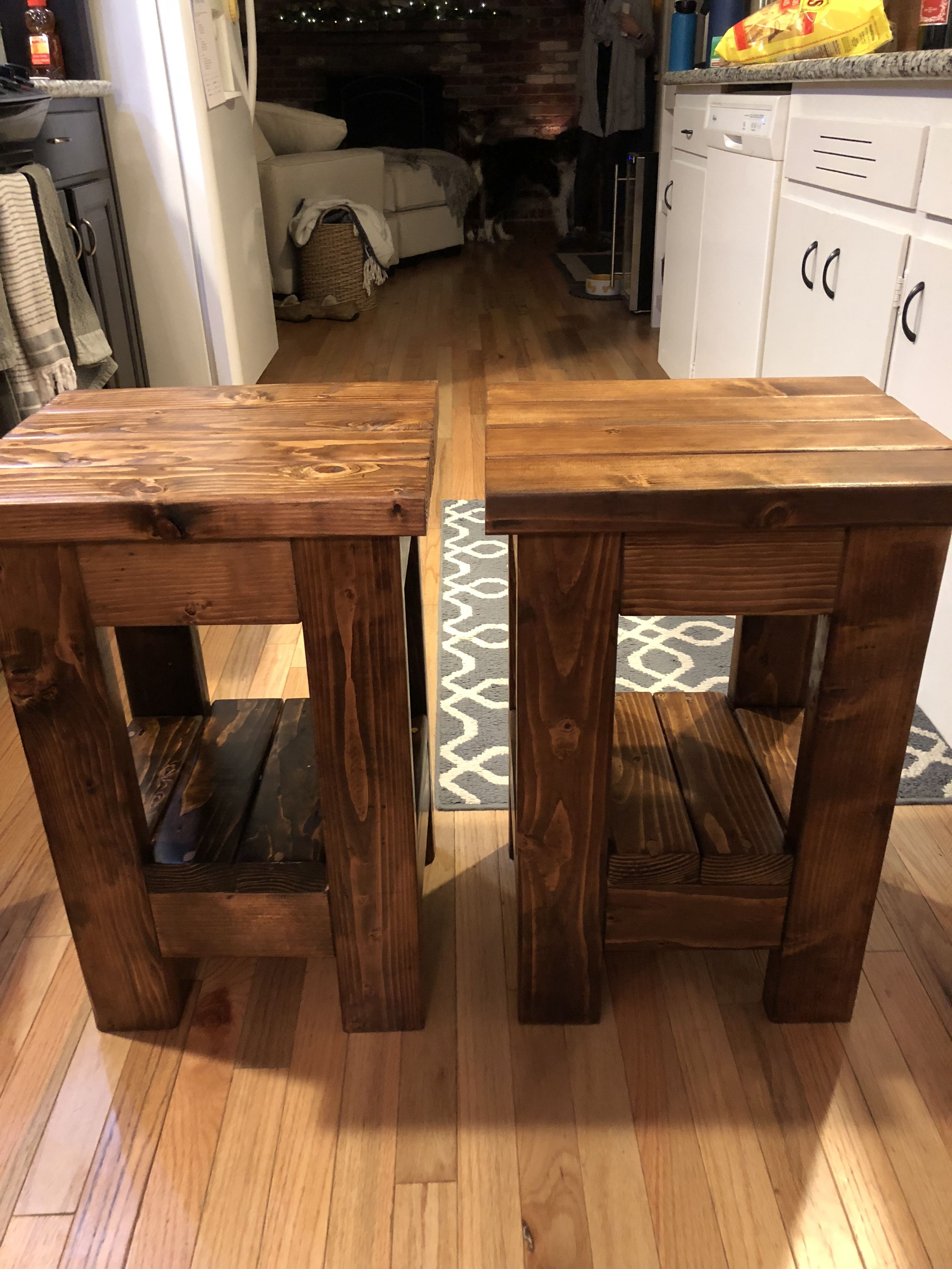 Ana White End table modified smaller plans! DIY