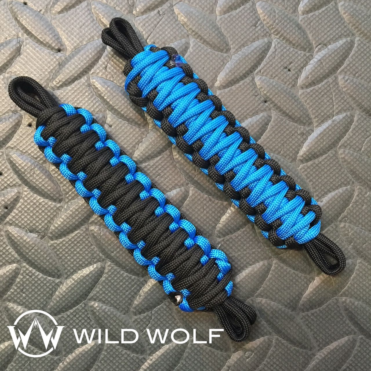 Sky Blue And Black Jeep Door Straps Order Your Own Set In