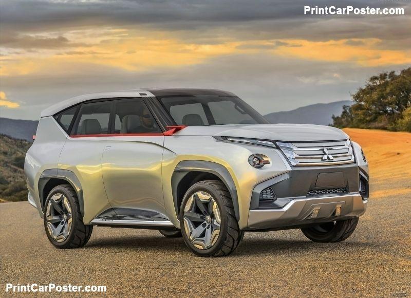 Mitsubishi GCPHEV Concept 2015 Poster. ID1304231 in 2020