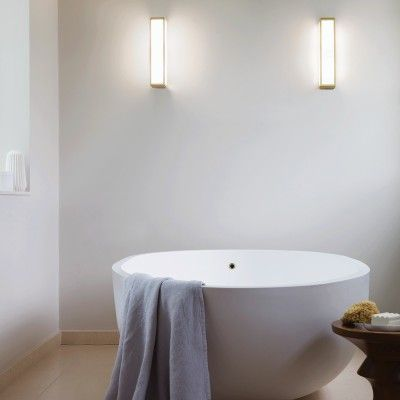 classic bathroom lighting. Astro Classic Mashiko 360 Wall Light - Matt Gold Bathroom Lighting