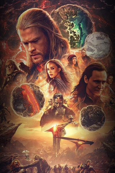 Hd Thor The Dark Kingdom 2013 Online Stream Deutsch Avengers Art Thor Ray Stevenson