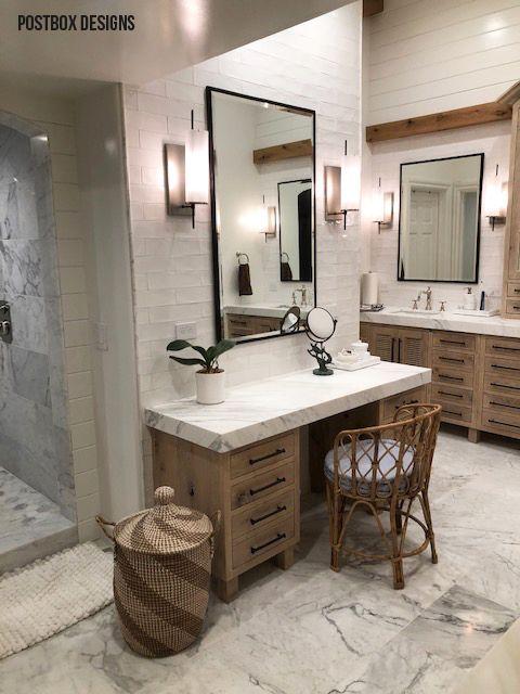 Photo of Postbox Designs Interior E-Design: Neutral Bathroom Makeover