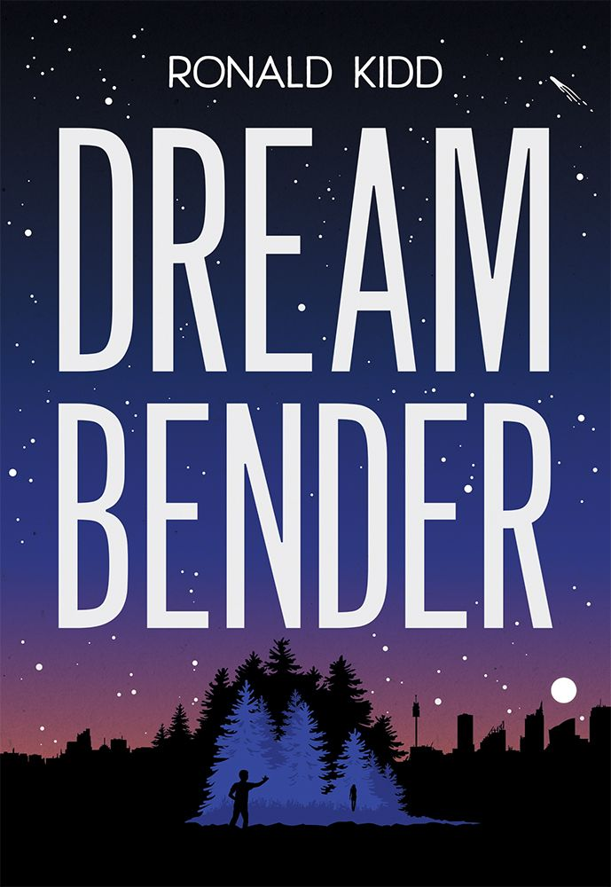Dreambender by author Ronald Kidd is a middle grade science fiction novel now available in paperback about community and achieving one's dreams.