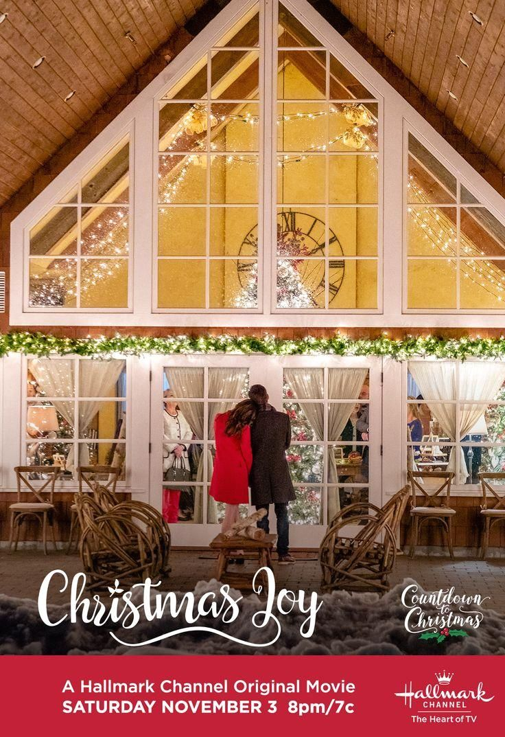"""#1 destination for holiday cheer, Hallmark Channel.  #CountdownToChristmas  #HallmarkChannel  #ChristmasJoy   #Christmas #with Countdown to Christmas with the ones you love - and tune in for """"Christmas Joy"""" starring Danielle Panabaker and Matt Long on November 3 at 8pm/7c, only on the"""