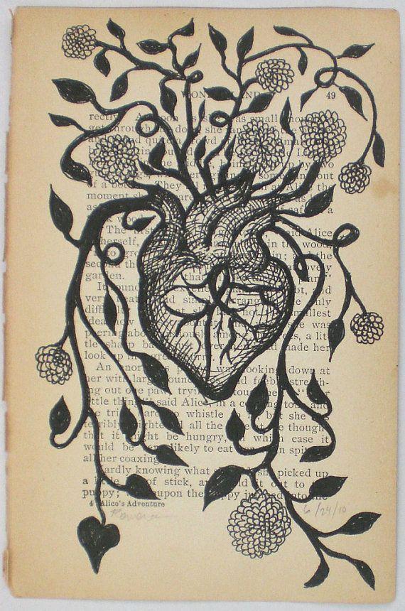 coeur nourri love anatomisches herz kunst und zeichnen. Black Bedroom Furniture Sets. Home Design Ideas