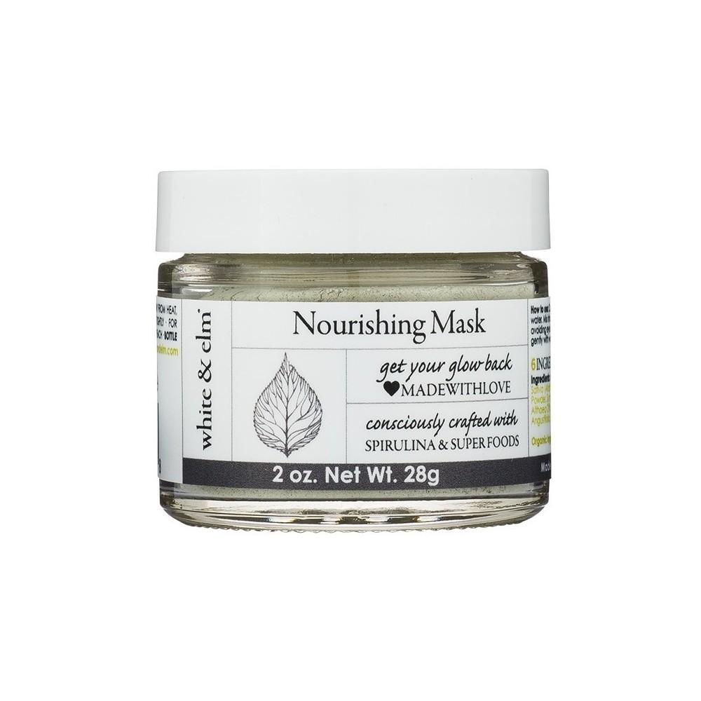White & Elm Spirulina Green Superfood Nourishing Mask - 2oz