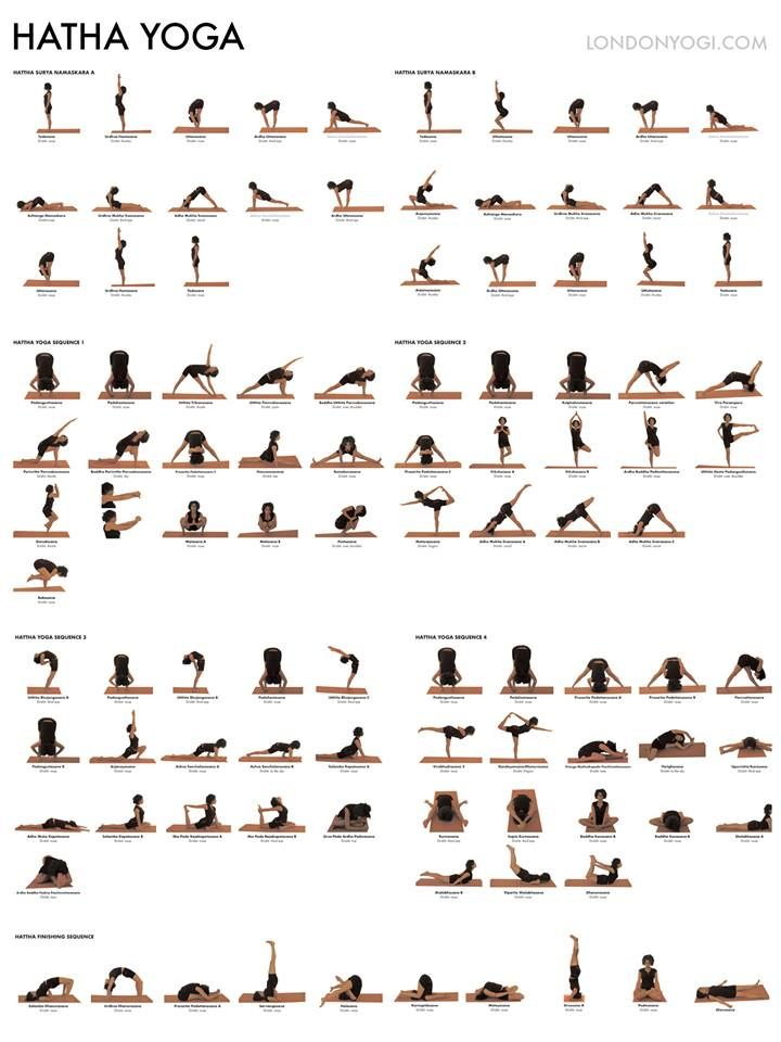 Assez hatha yoga sequences (do whole sequence 2x) | Fit! | Pinterest  BO52