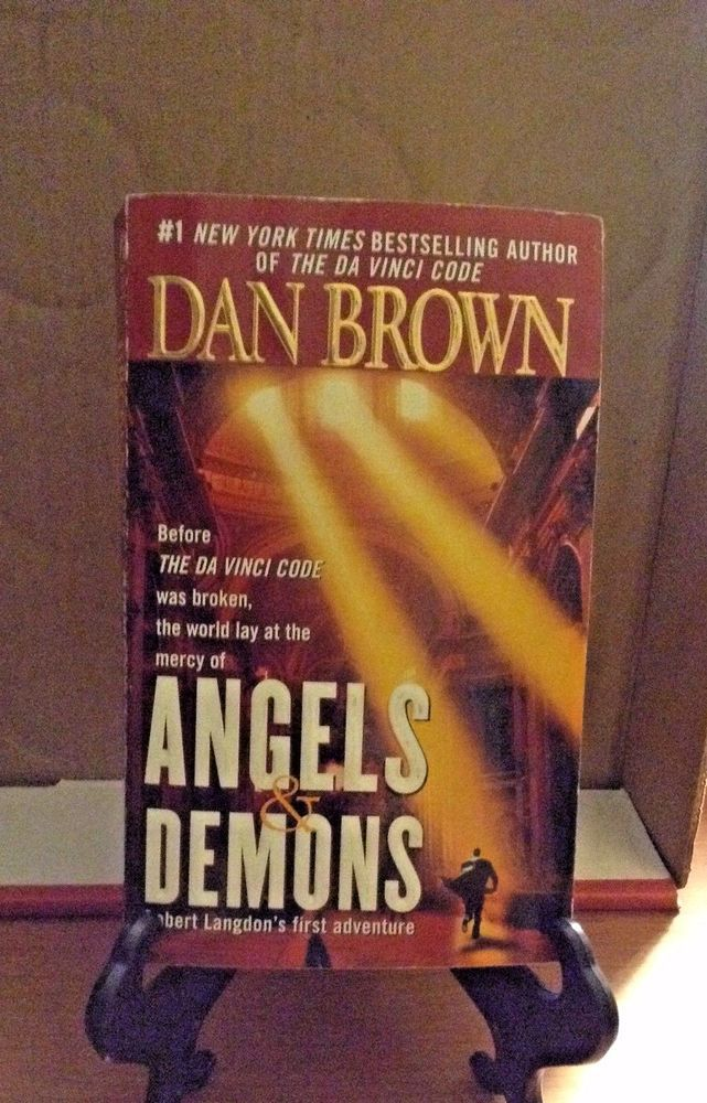 Details about ANGELS & DEMONS by DAN BROWN 2001 PB Robert