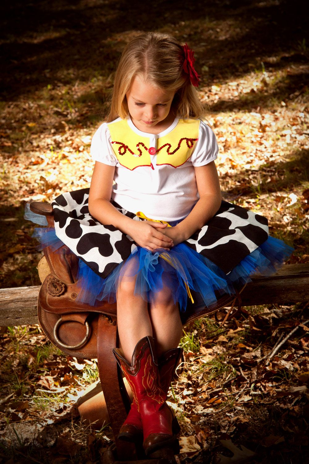 Jessie The Cow Girl Toy Story shirt and tutu. 4e0d2774865