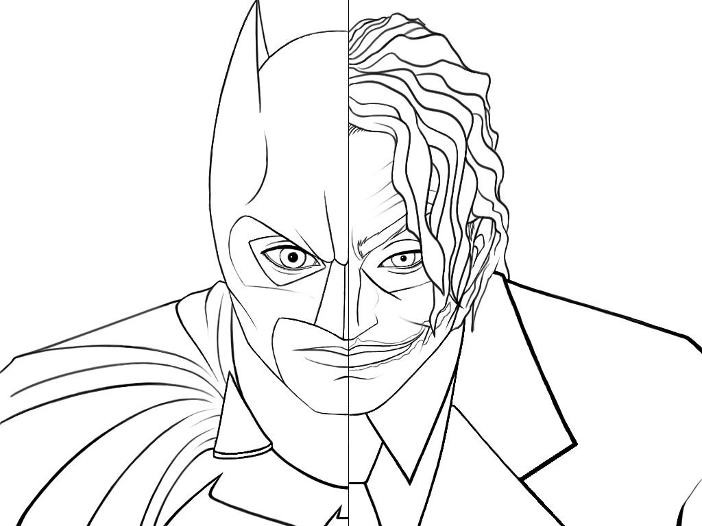 Joker Coloring Pages Pictures To Print Batman Coloring Pages