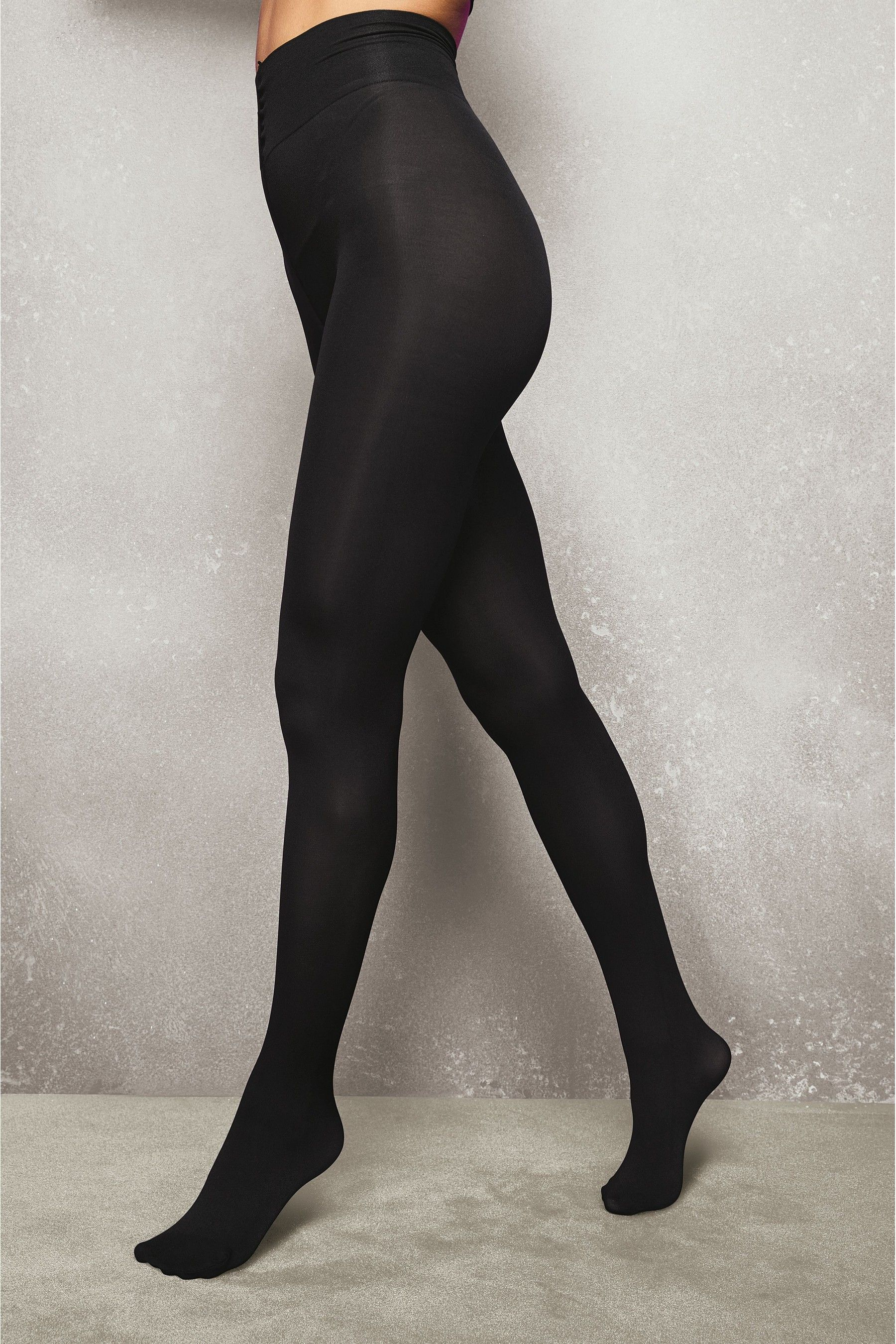 e641aadbca3 Buy Black 100 Denier Opaque Tights Three Pack from the Next UK online shop